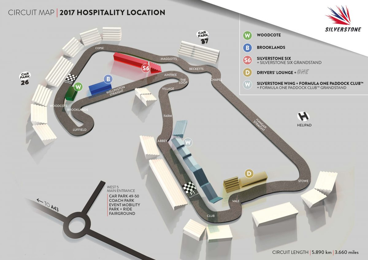 Silverstone Hospitality Location