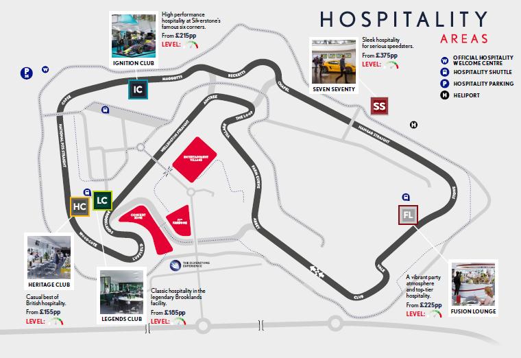 Silverstone Hospitality Location